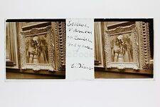 Esclave d'Amours E. Dinet Musée du Luxembourg Paris Plaque de verre stéréo