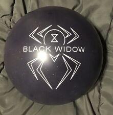 NEW 15 LB Hammer Black Widow Black Rare Overseas Bowling Ball