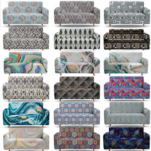 Elastane 2 3 4 Sofa Couch Covers Set for Corner Sofa Armchair Stretch Slipcovers