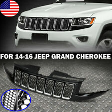 FRONT BUMPER GRILLE FOR 2014-2016 JEEP GRAND CHEROKEE SRT8 STYLE HONEYCOMB MESH