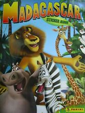 Panini DISNEY MADAGASCAR  complete 228 stickers album already labeled 2005