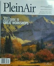Plein Air Magazine March 2017 Guide to Great Workshops Artists FREE SHIPPING sb