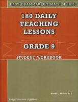 Easy Grammar Ultimate Series: 180 Daily Teaching Lessons, Grade 9 Student