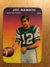 Joe Namath 1970 Topps Glossy Football Card # 29 Of 33 Jets