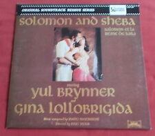 SOLOMON AND SHEBA  SALOMON ET LA REINE DE SABA LP FR BOF OST NASCIMBENE