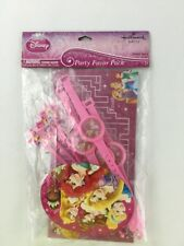Disney Princess Party Favor Pack 4 Each Wand Watch Puzzles Rings Stickers