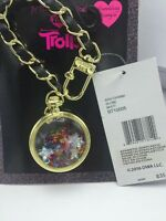 Betsey Johnson  Troll Handbag Glitter Globe With Multi Color Stars Charm $35 T4