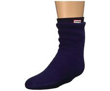 Hunter Kids Fitted Boot Socks Knit Cuff Navy Size XL 5050