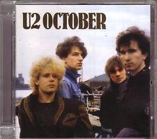 CD (NEU!) . U2 - October (U 2 / dig.rem. Gloria I fall down Rejoice mkmbh