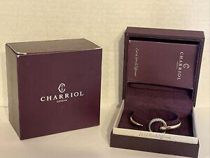 "Charriol Bangle Infinity Zen Rose Gold Tone MEDIUM 6.50"" Wrist 04-102-1232-0CM"