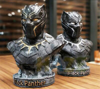 """Avengers: Endgame Black Panther 1/2 Bust 14"""" Resin Action Figure Toy Collection"""