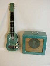 Vintage Magnatone Lap Steel & Amplifier Set