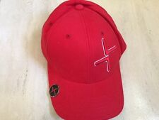 Brand New Cross Golf Cap, rouge