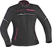 Motorcycle Jacket Woman Ixon Zetec Lady C HP Womens Textile Plus Size Black Viol
