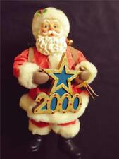 Possible Dreams Clothtique Santa #713213 Greeting The Millenium Year 2000 Lights