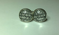 Stairway to Heaven Lyrics , Led Zeppelin, Retro Rock cufflinks