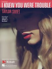 I Knew You Were Trouble Sheet Music Piano Vocal Taylor Swift NEW 000118093