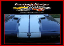 T Stripes OUTLINED  Decal  Vinyl fits Dodge Challenger 2008-2011FACTORY STRIPE