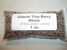 1 oz. Chaste Tree (Vitex) Berry Whole (Vitex agnus castus)