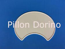 Tabella portanumero con scanso anteriore in plastica colore Bianco
