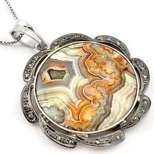 Handmade Agate Fine Necklaces & Pendants