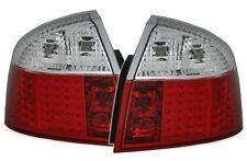 FEUX ARRIERE LED ROUGE BLANC CRISTAL AUDI A4 8E B6 BERLINE 00-04 S-LINE S LINE