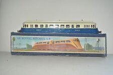 ancien jouet motrice LR autorail échelle 0 ancien train  avec  boite