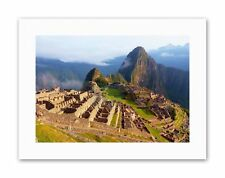 MACHU PICCHU ANCIENT PERU MAYA Canvas art Prints