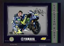 Valentino Rossi photo Yamaha Signed autograph Motor Sport Memorabilia Framed