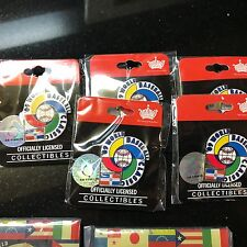 World Baseball Classic 2009  DOMINICAN REPUBLIC  Pin- BN-OFFICIALLY LICENSED