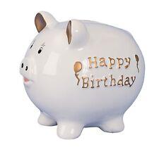 Spardose Geburtstag Sparschwein 21 Cm Happy Birthday