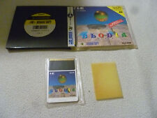 JAPANESE IMPORT PC ENGINE HU CARD GAME BLODIA COMPLETE HE SYSTEMS HUDSON SOFT