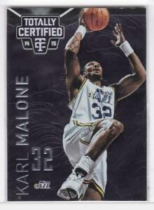 2014-15 Karl Malone #/49 Panini Totally Certified Los Angeles Lakers