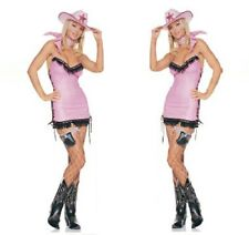 CLEARANCE Pink Cowgirl Cowboy including Dress and Scarf Size 8-10