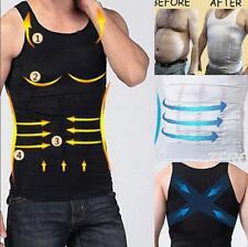 Men Ultra Lift Body Slimming Shaper Vest Abdomen Compression Fitness Tank Corset