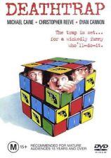 DEATHTRAP - DVD - Death Trap RARE OOP- 1980s Michael Caine Movie REGION 4