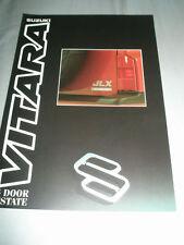 Suzuki Vitara 5 Door Estate brochure Sep 1991