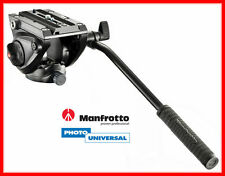 Manfrotto Fluid Video Testa mvh500ah/MVH 500 Ah con base piatta NUOVO