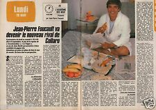 Coupure de presse Clipping 1985 Jean Pierre Foucault  (2 pages)