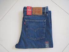 Levi's 504 Men's Regular Straight Stretch Fit Jeans - 005040393- Size  W33 L34
