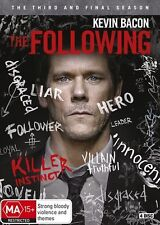 THE FOLLOWING : Season 3 FINAL : NEW DVD