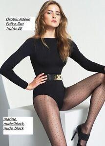 Oroblu Adelle Polka Dot Tights 20, Sheer tights with mini dot pattern