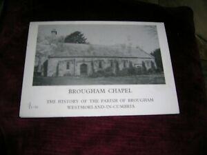 BROUGHAM CHAPEL WESTMORLAND-IN-CUMBRIA 1980