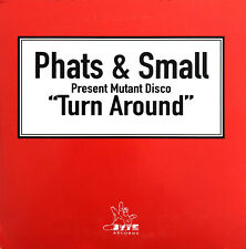 Phats & Small Present Mutant Disco CD Single Turn Around - Belgium (EX/EX+)