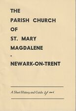 NEWARK-ON-TRENT St Mary Magdalene Parish Church 1965 illust history guide Notts