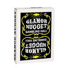 CARTE DA GIOCO GLAMOR NUGGET LIMITED BLACK EDITION,poker size