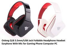 Ovleng Q18 Headphones / Headset (Black)