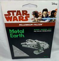 FASCINATIONS METAL EARTH STAR WARS MILLENNIUM FALCON 3D LASER-ETCHED STEEL MODEL