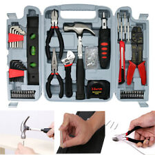 131 pc Large Tool Set Household Garage Mechanics All Purpose Hand Tools Kit Case