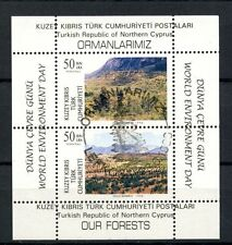 Turkish Cypriot Posts 1996 SG#MS428 World Enviroment Day Cto Used M/S #A35837